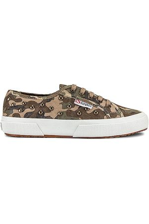 Superga 2750 STUDS Sneaker in Army. - size 10 (also in 6, 6.5, 7, 7.5, 8, 8.5, 9, 9.5)