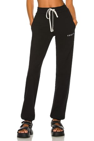 TWENTY MONTREAL Sunnyside Terry Jogger in Black. - size M (also in S, XS)