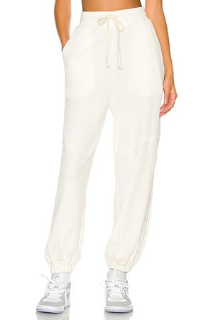 TWENTY MONTREAL Everest Thermal Baggy Pant in Ivory. - size L (also in M, S, XS)