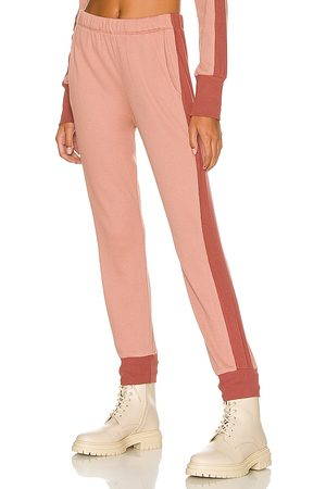 MONROW Thermal Jogger in Blush. - size L (also in M, S, XS)