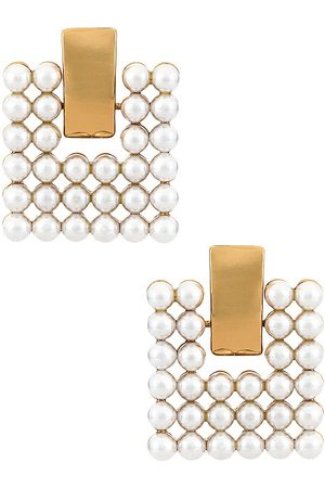 8 Other Reasons Forever Earring in Metallic Gold.