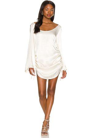 SNDYS Rosalie Dress in Cream. - size L (also in M, S, XL, XS, XXS)